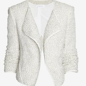 10 Crosby Derek Lam Boucle Asymmetrical Jacket